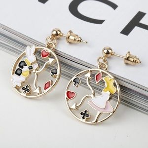 Jewelry - Disney's Alice in Wonderland Inspired Earrings
